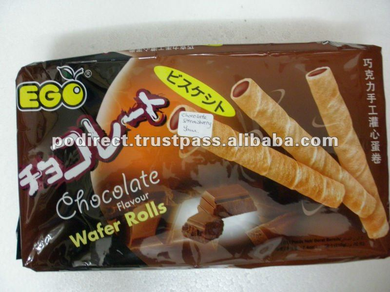 Ego Wafer Rolls - cookies, wafer sticks