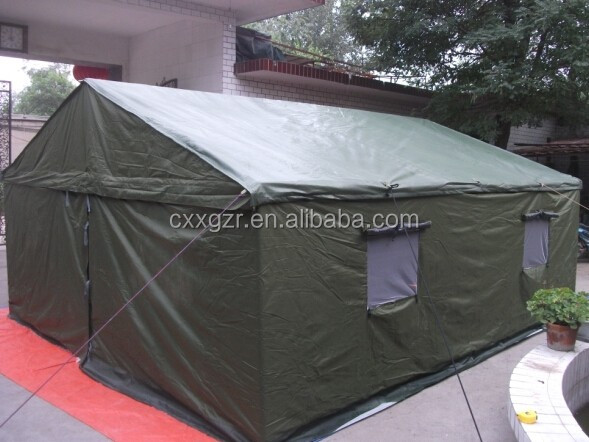 2016 Steel frame military tent for 8 person windproof tent