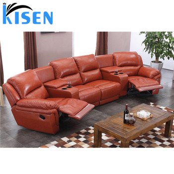 Home theater recliner leather corner sofa 6014TV, View home theater corner  sofa, KISEN Product Details from Foshan Kisen Home Limited on Alibaba.com