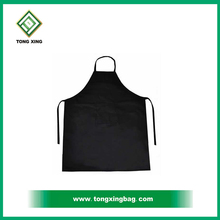 Black Cotton Cooking Apron
