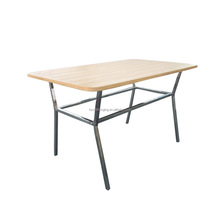 T009C Recycle wood dining table