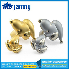best price for gold cute doggy kids bedroom cabinet knobs, fashionable dresser pulls, drawer handles, furniture handles