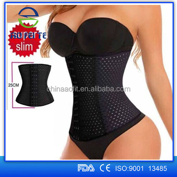 2016 Aofeite Lady Corset Back Support Waist Training Corsets Wholesale