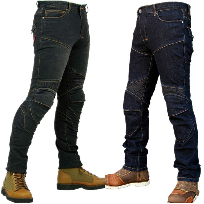 Women And Men Jeans For Motorcycle Jeans Pants