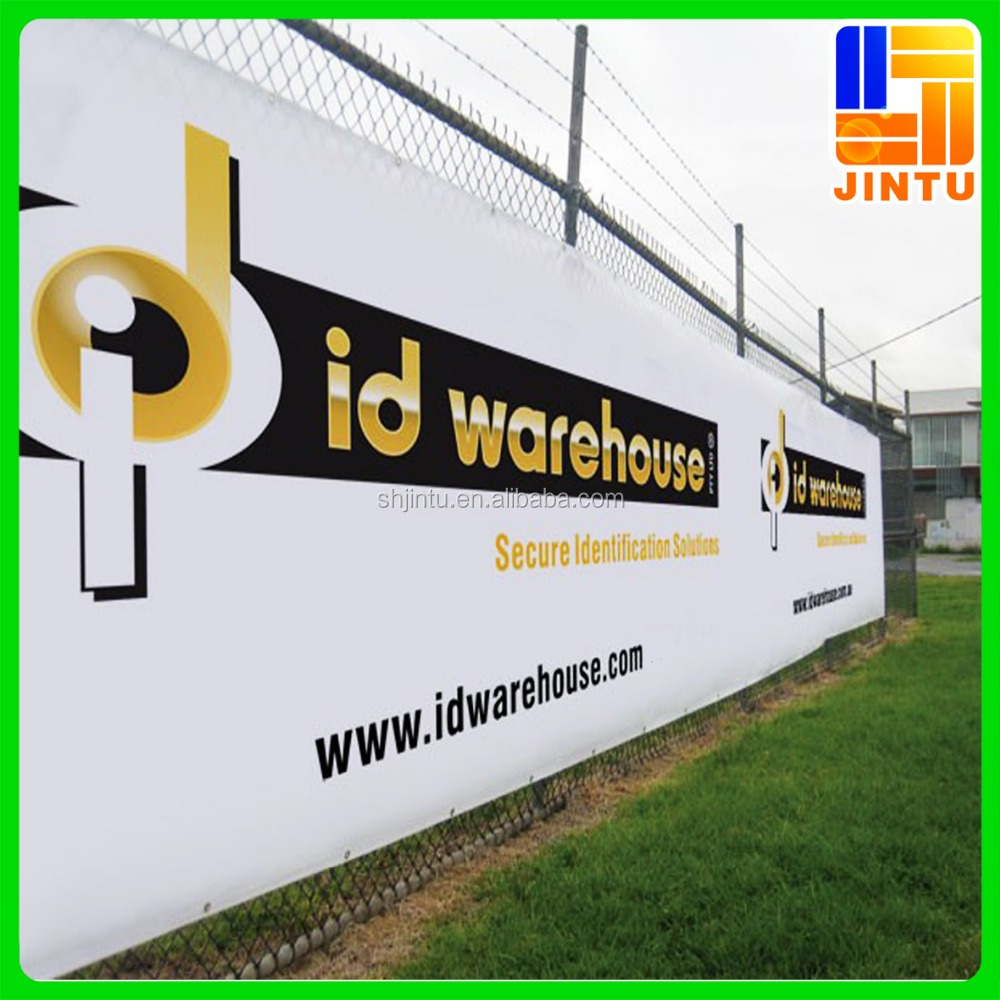 Outdoor Advertising Large Mesh Fence Fabric Banner PVC Flex Vinyl Banner