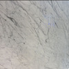 Newstar Polished Surface Natural Stone Tile Snow White Marble Flooring Decoration