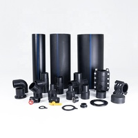 Hdpe Plastic Tube 75Mm Hdpe Pipe 3 Inch