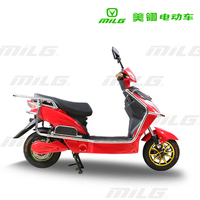 hot sale OEM service 800w disc brake adult electric motorcycle scooter