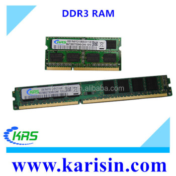 High quality computer parts and accessories for ddr3 4gb PC3-10600 1333mhz ram