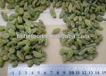 95% green raisin ,chinese best green raisin,AAA grade