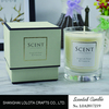 Luxury Scented Candles In Glass Jar