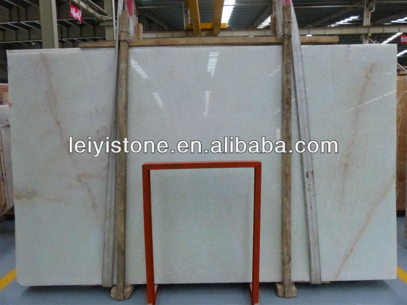 High quality white marble onyx building material