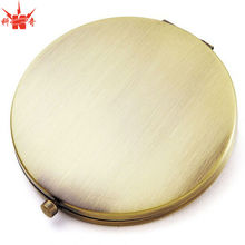Round Pocket Mirror Luxury Antique Custom Compact Mirror