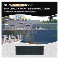 Popular big or small sand coated metal roofing tiles sheet