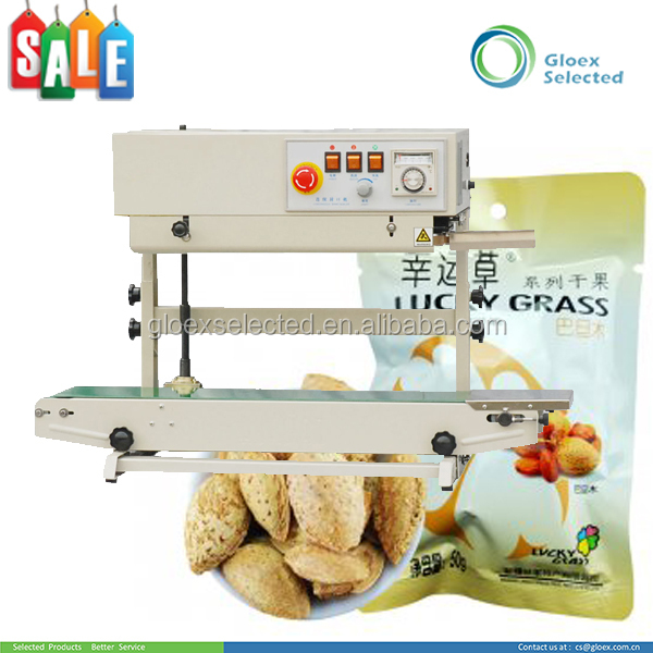 Electric automatic CE Approval high quality aluminum foil bags heat sealing machine