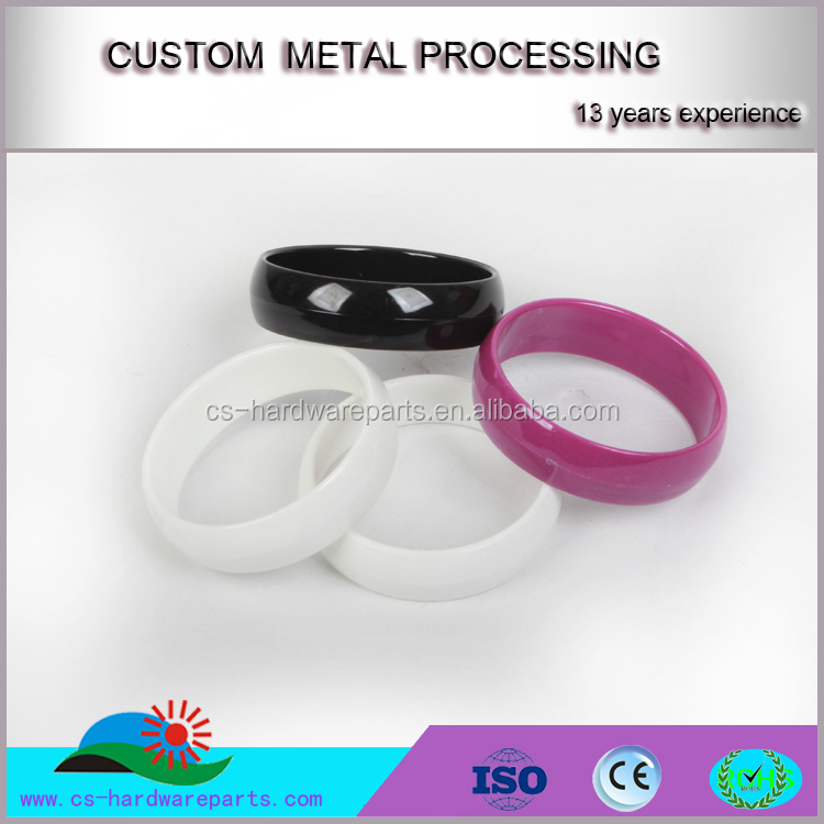 China Factory DIY customized color toy bracelet plastic parts