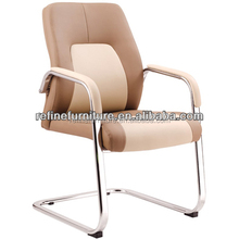 leather office chair conference chair without wheels RF-V028