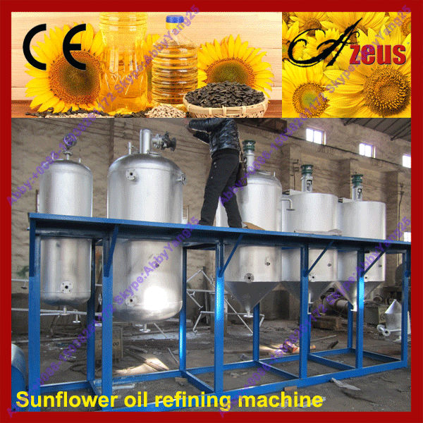 Spring discount!! crude and refined sunflower oil machine
