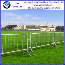 Power coated galvanized Canada style constraction site outerdoor temporary fence barricade