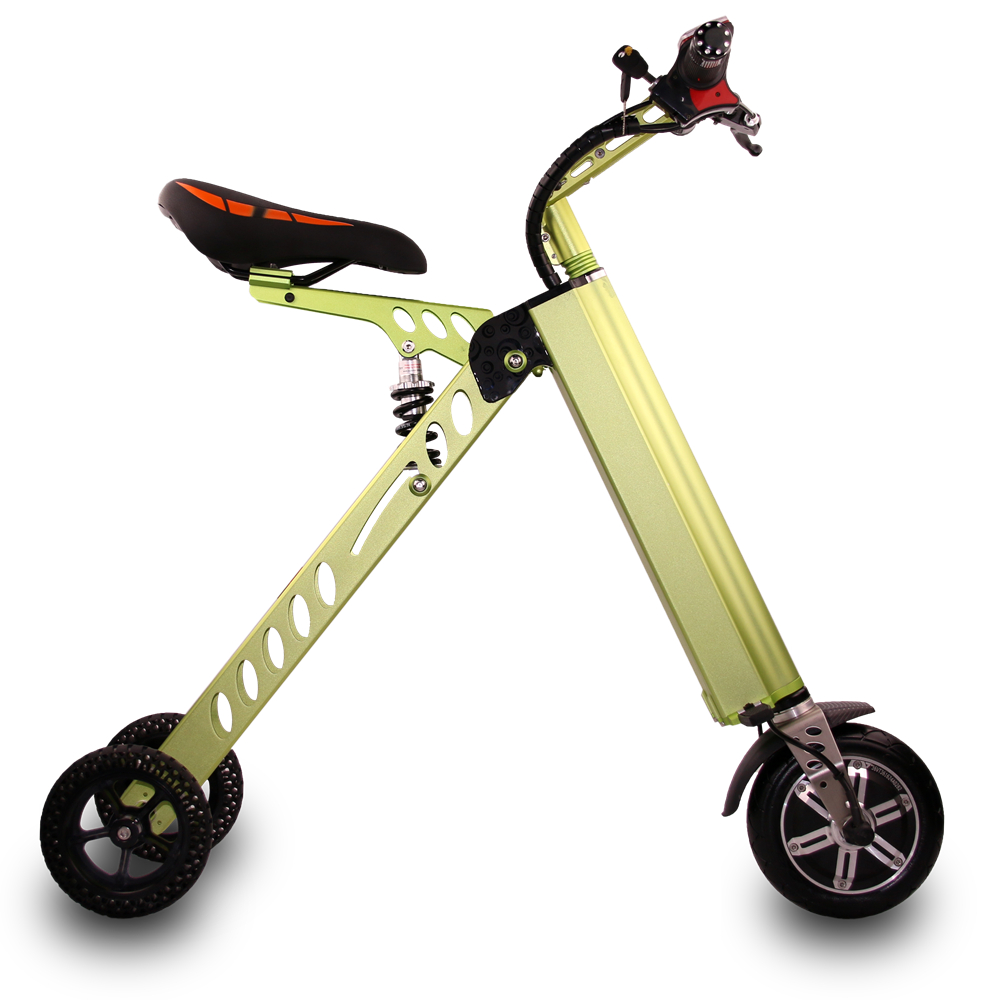 250w Brushless Motor Small Foldable Scooter Cheap 3 Wheel Electric Scooter for Adult