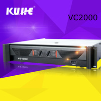 Sound System dj equipment 2000w Ultrasonic Power Amplifier