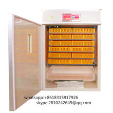 1000 capacity chicken duck goose poultry egg incubator/solar incubator for hatching eggs