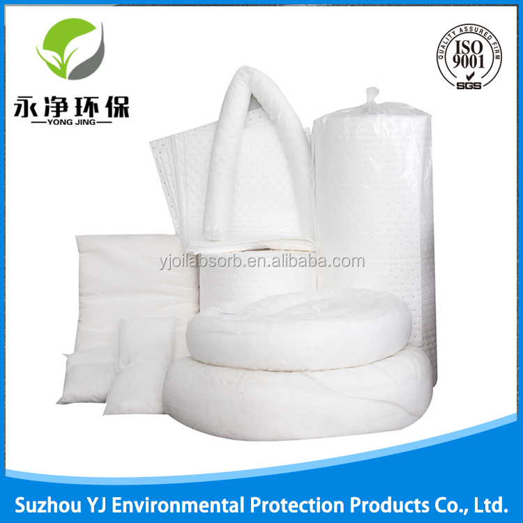 Clean Absorbent Pads Spill Fuel Oil