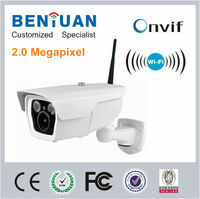 High Definition 2pcs IR Array LEDS, 2.8-12mm Lens IP66 2.0 Megapixel Wireless Mini Camera Wifi IP