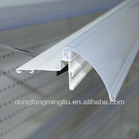 supermarket plastic data strip Cosmetic shelf parts