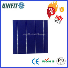 china manufacturer 6*6 thin film solar cells poly solar cell