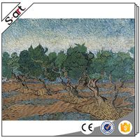 China manufacture low price van gogh figure oil painting