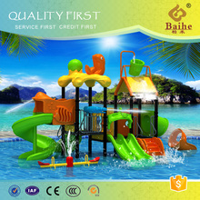 BH011best sales excellent material large plastic water slide for sale