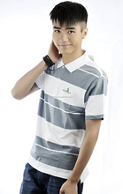 Wholesale short sleeve printed 100 cotton 6xl polo shirts/adult polo t-shirts manufacturer
