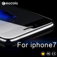 Mocolo 3D mobile phone use screen protector tempered glass for iphone 7 /7plus 3D tempered glass 0.33mm For iphone 7/7plus