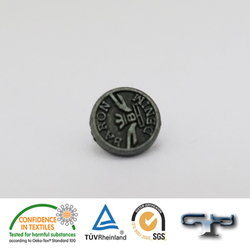 Customized trouser sweater buttons metal fashion jeans button