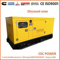 Popular goods and attractive price!! 20-200kw with cummins engine good quality diesel generator