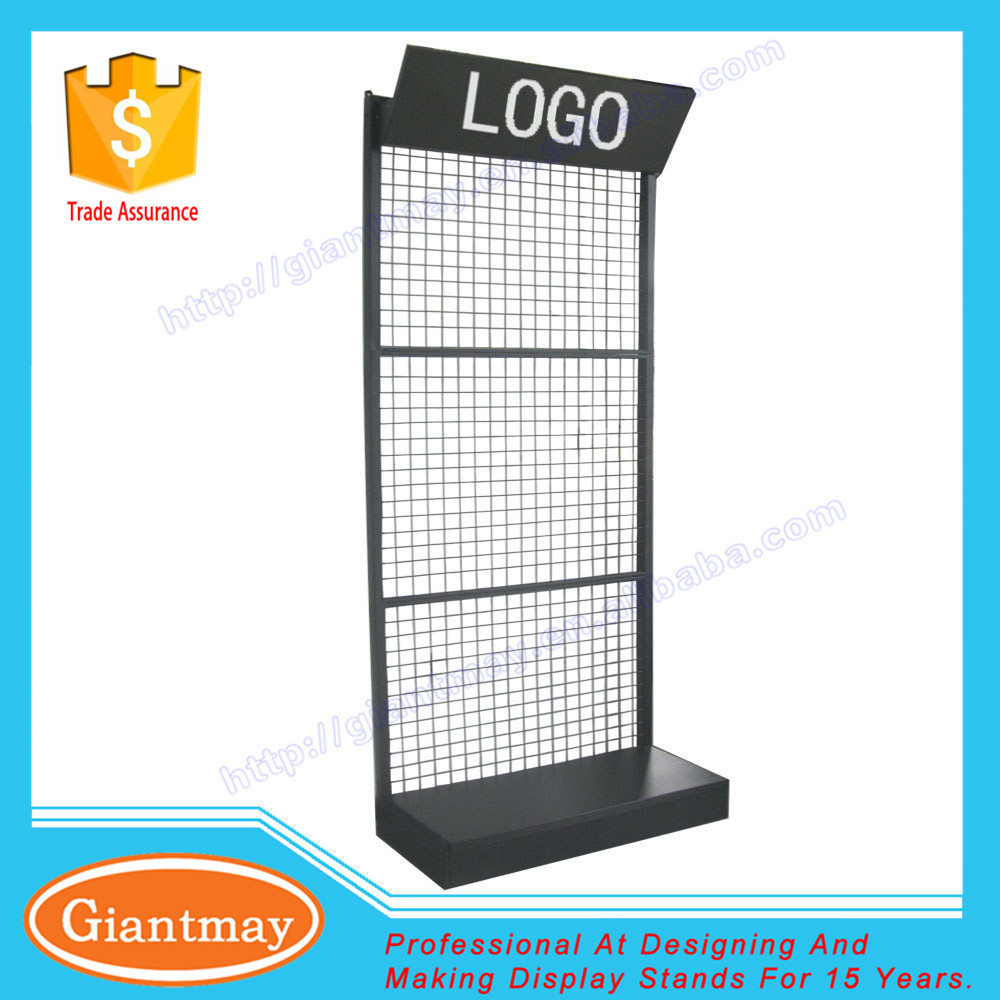 wall standing back panels wire mesh display racks and stands