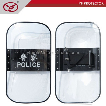 Police Polycarbonate Round Anti Riot Shield for Sale