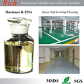 Fast Curing Winter-Type Self-Levelling Epoxy Flooring Coating Curing Agent, Epoxy Floor Top Coating Hardener R-2254