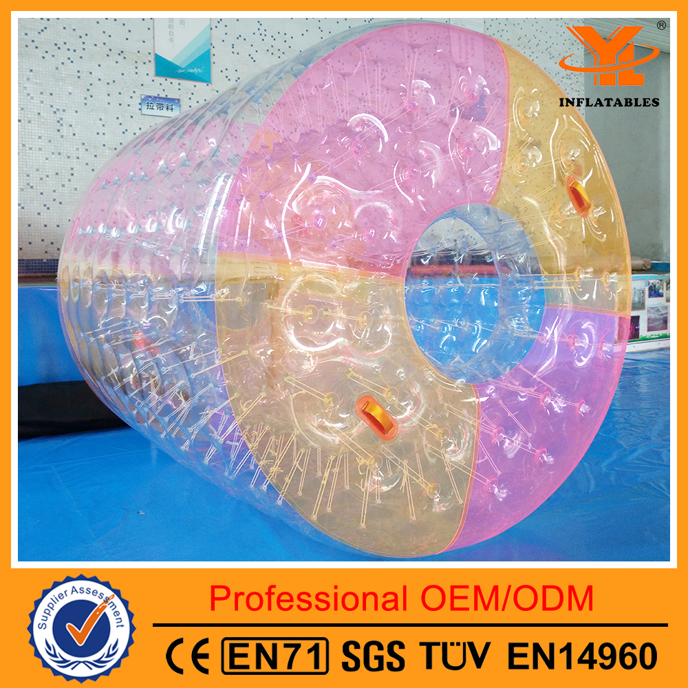 Multi-Color Water Roller,Inflatable Bubble Roller Ball for Hot sale