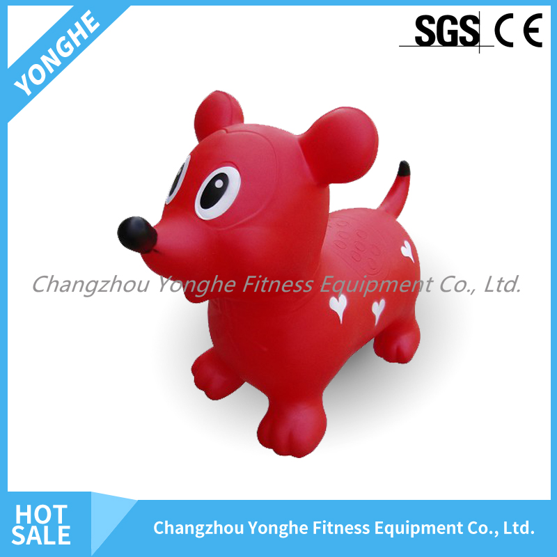 Attractive Fashion bouncing hopper inflatable ball