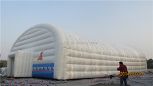 White color inflatable tent house outdoor giant inflatable dome tent for sale