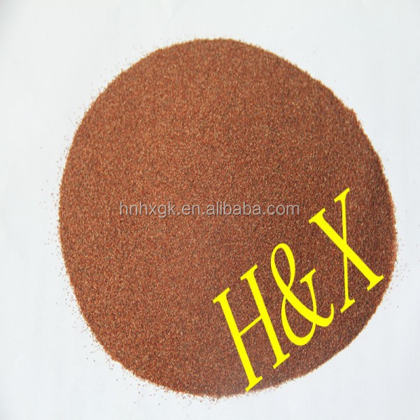 High Performance Sandblasting Material Garnet Sand Price of Abrasive Blasting Grains