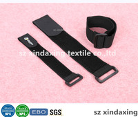 100% Nylon Buckle Hook and Loop elastic strap