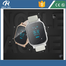 Silver Crystal Voice Talkbalk gps tracker watch phone android wifi gps