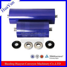 Solid mild steel construction conveyor roller