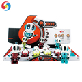 Electric interactive induction toy Smart metal robot with music and light JS3902731
