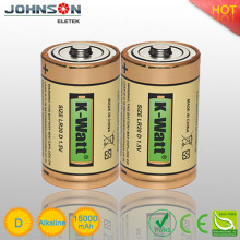 lr20 alkaline battery 1.5v d