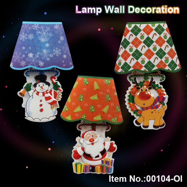Christmas LED lamp wall decoration toy
