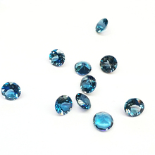 Natural Blue Topaz Rough Cut Faceted Wholesale stone price